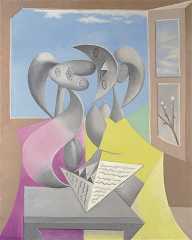 pablo-picasso-deux-personnages-marie-therese-et-sa-souer-lisant-1934-christies-impressionist-and-modern-art