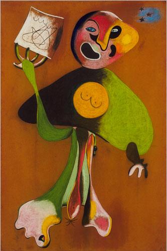 Joan Miro Woman(opera singer)