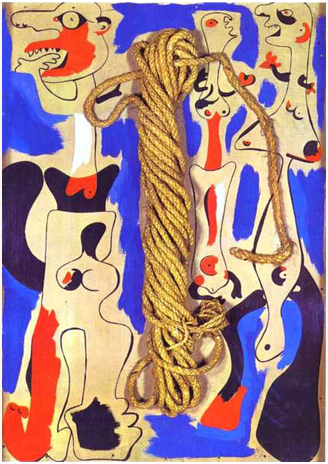 Joan Miro Rope and People and I
