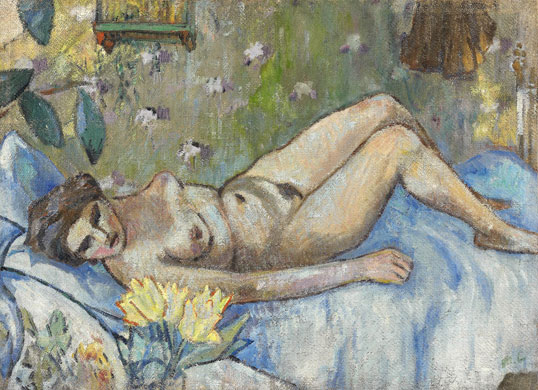 reclining-nude-mikhail-fedorovich-larionov