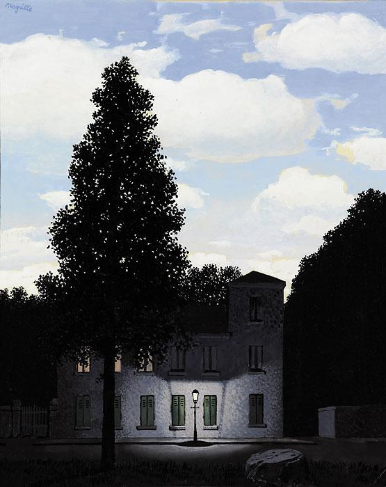 """Rene Magritte's """"L'Empire des lumiéres"""" (1947)"""