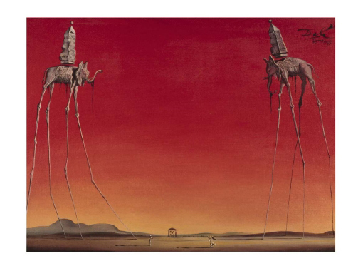 Les Elephants- Salvador Dali