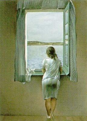 Person at the Window- Salvador Dali