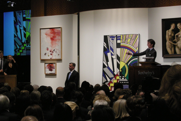 Sotheby's November 11th, 2008 Roy Lichtenstein.