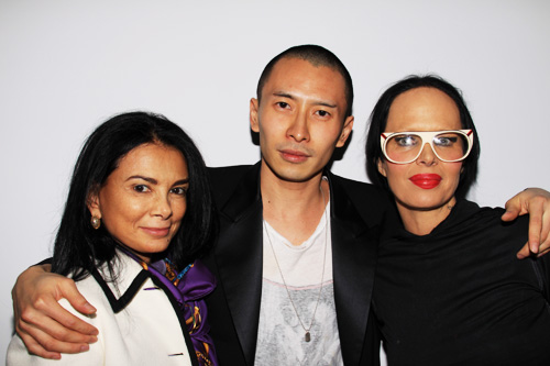 Terence Koh 'Flowers for Baudelaire' - Mary Boone, Terence Koh and Kembra Pfahler