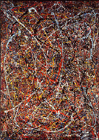 The Pollock in question via terisfind.com