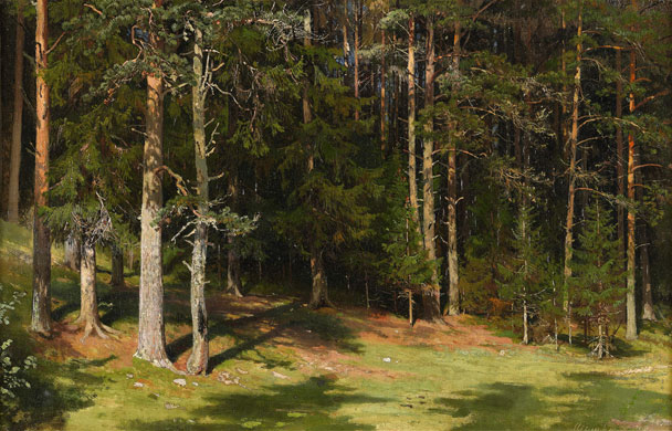 the-clearing-ivan-ivanovich-shishkin