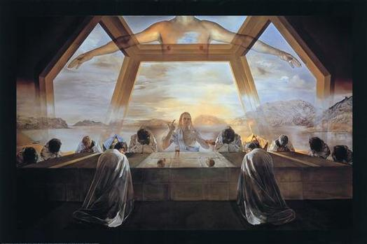 The Last Supper- Salvador Dali