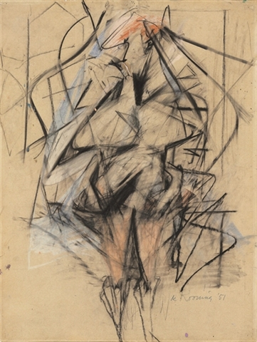 Willem de Kooning - Woman - $2,770,500 estimate $3,000,000-$4,000,000
