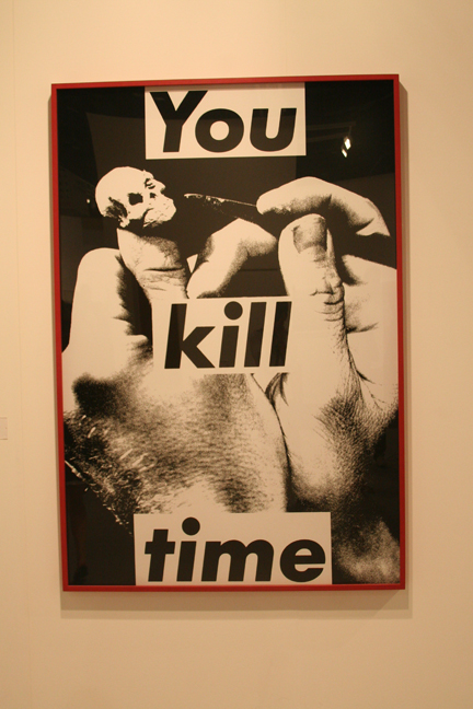 art-basel-2008-barbara-kruger-untitled-you-kill-time2