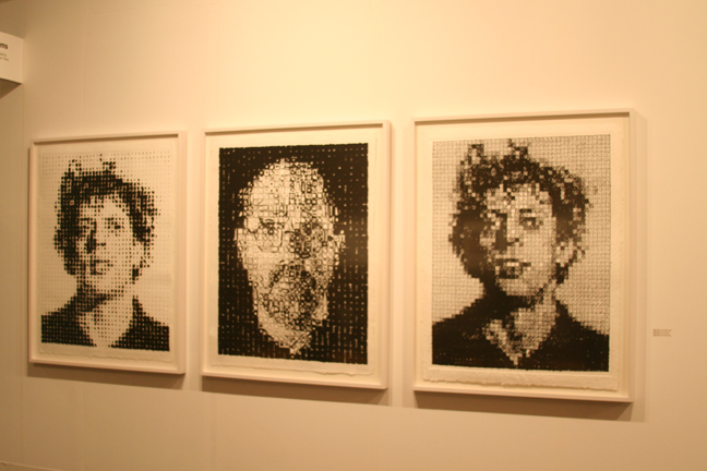 art-basel-2008-chuck-close-phil-houndstooth-self-portrait-phil-crosshatch-two-palms1