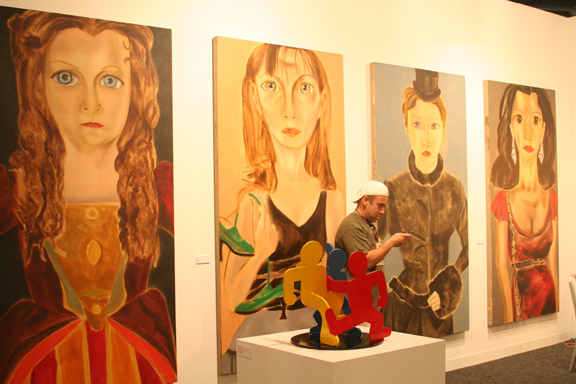 art-basel-2008-francesco-clemente-deborah-voigt-as-gioconda-natalie-dessay-as-amina-diana-damrau-as-lucia-and-angela-gheorghiu-as-magda-via-deitch-projects