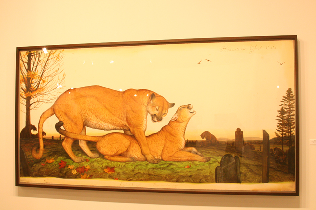art-basel-2008-walton-ford-housatonic-ghost-cats-kasmin-gallery1