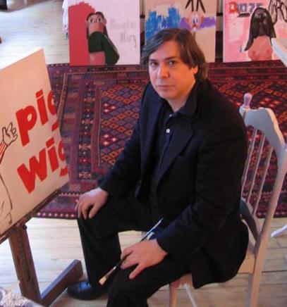 George Condo- image via www.artnet.com