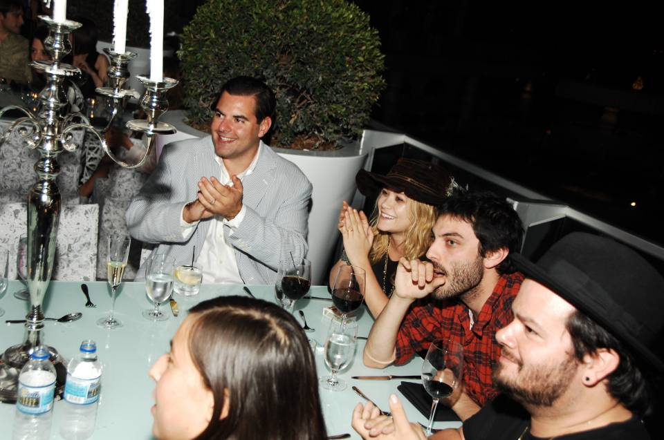 Mary Kate Olsen, Matt Creed, in the foreground Carlos Quirarte and Mariko Munroin