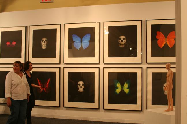 """Art Basel 2008 Damien Hirst """"Memento"""" Nitsch/Paragon"""
