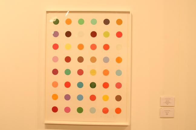 "Art Basel 2008 Damien Hirst ""Oleoylsarcosine"" Nitsch/Paragon"