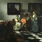 Vermeer, The Concert (1664)