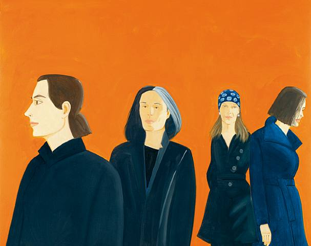 Alex Katz-Fashion 3-2008