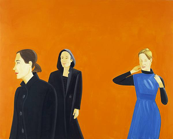 Alex Katz-Fashion 4-2008
