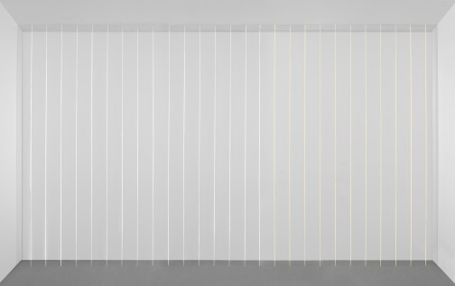 fred-sandback-untitled-sculptural-study-twentyseven-part-vertical-shallow-relief-1985-2008