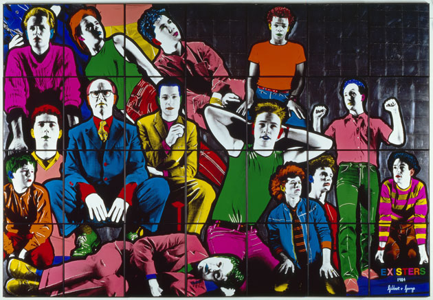gilbert-george-existers-1984