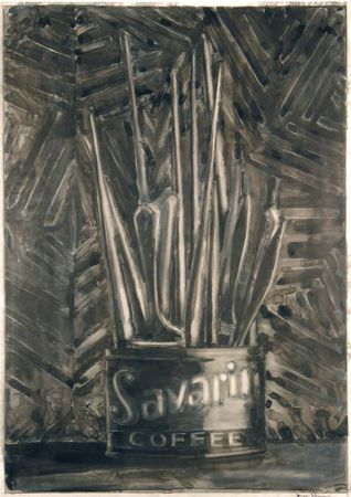 jasper-johns-savarin