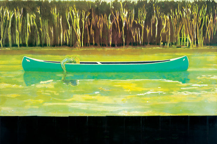 peter-doig-canoe-lake-1997
