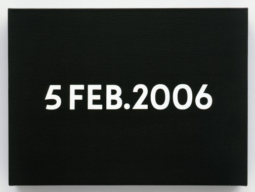 On Kawara, 5 Feb. 2006