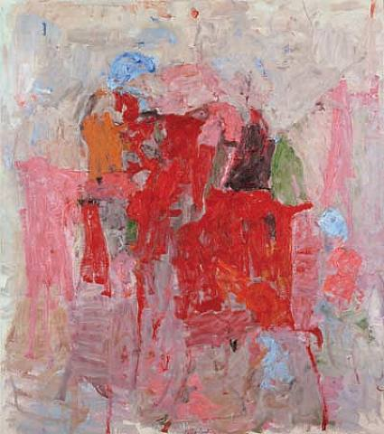 Philip Guston-The Mirror-1957