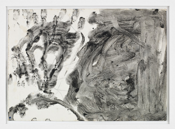 Joseph Beuys-Woman Animal Skull-1956-1957