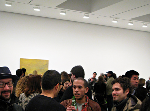 David Zwirner Lisa Yuskavage opening - photo by Art Observed