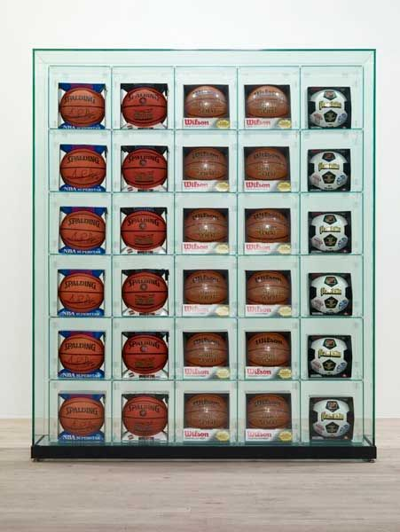 jeff-koons-encased-5-rows-1993