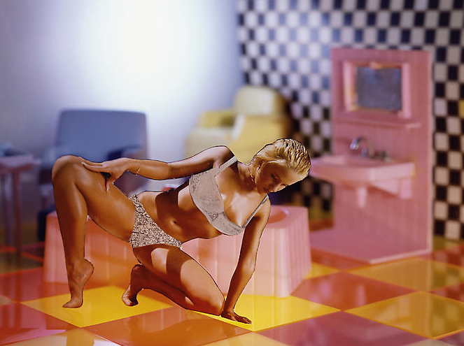 Lehmann Maupin - The Glamour Project - Laurie Simmons - Pink and Yellow I