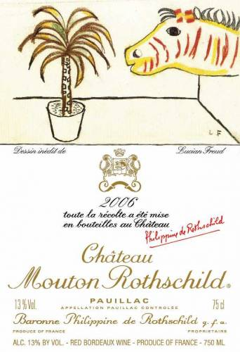 lucian-freud-label-of-chateau-mouton-rothschild-2006