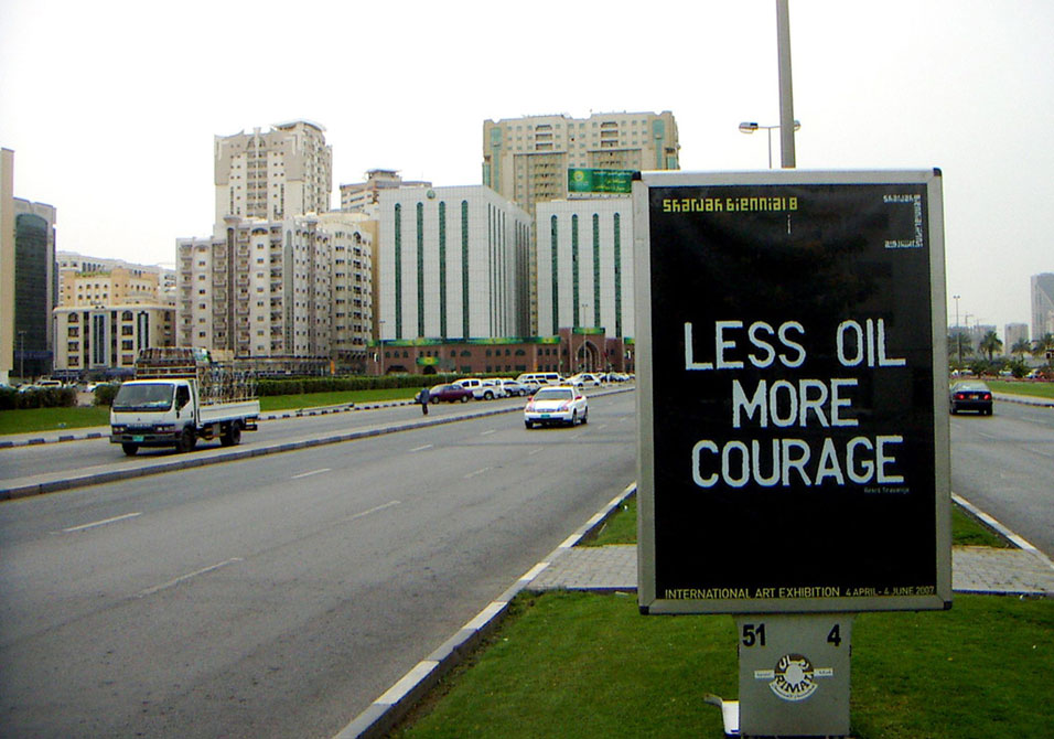 rirkrit-tiravanija-less-oil-more-courage