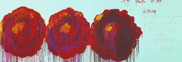 Cy Twombly-The Rose IV-2008