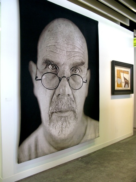 armory-modern-danese-chuck-close-self-portrait-on-tapestry-2006