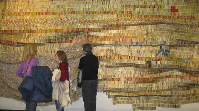 El Anatsui, Untitled, 2009, Jack Shainman Gallery New York