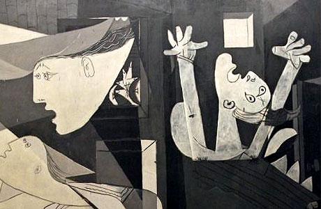 Picasso Guernica-detail-1937