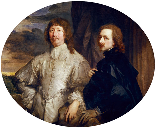 Van Dyck-Self Portrait-Van Dyck with Endymion Porter-c.1633