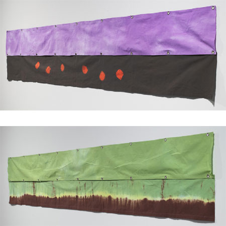 Richard Tuttle, 'Walking on Air, 5' (above) and 'Walking on Air, 4' (below), 2008, Via Re-Title.com