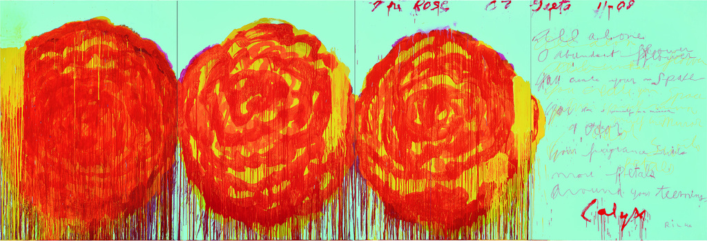Cy Twombly-The Rose II-2008
