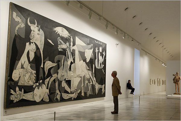 Picasso Guernica-1937-Reina Sofia