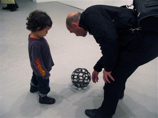 Adel Abdessemed, Soccer ball, 2009