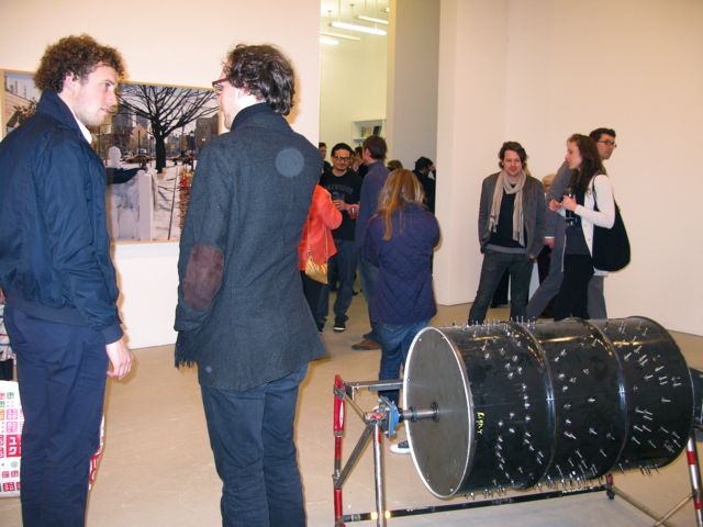 Adel Abdessemed, Music box (foreground) and Lincoln (background), 2009