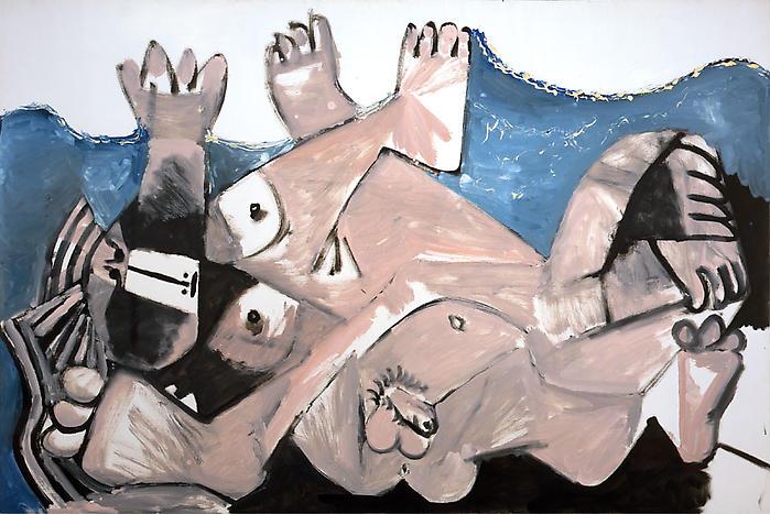 Pablo Picasso-Entreinte-1972