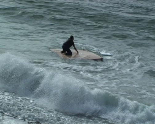 Adel Abdessemed, The sea, 2009, Video on monitor, Via David Zwirner