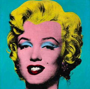 Andy Warhol, Turquoise Marilyn, 1964, Via Sotheby's