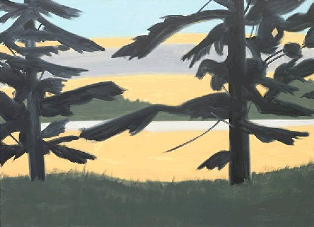 Sunset 2-Alex Katz-2008